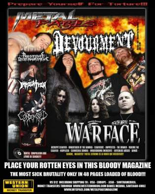 Metal Pages Magazine