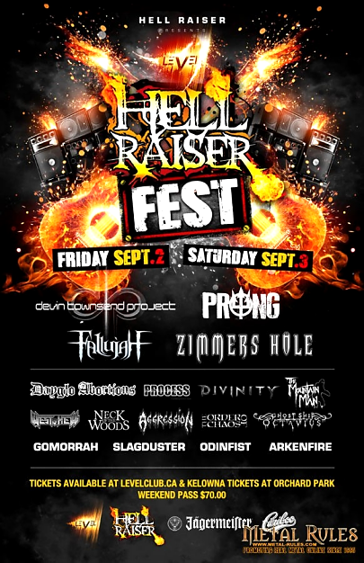 WARFACE guitarist Laura Christine performing at Hell Raiser Fest