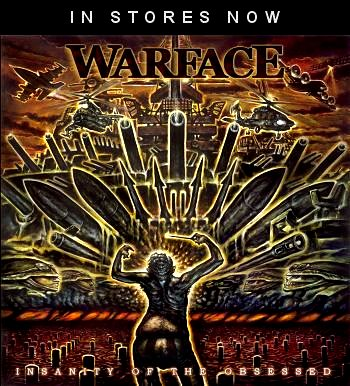 New Warface CD - Insanity of the Obsessed